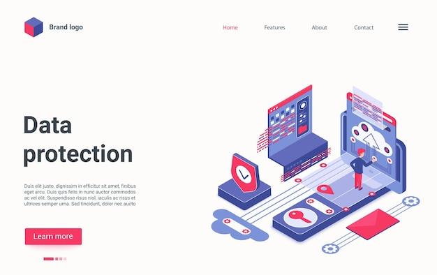 Creative concept landing page