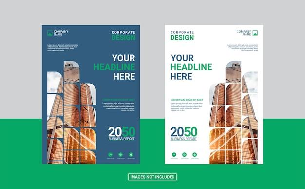 Креативный дизайн обложки корпоративной книги