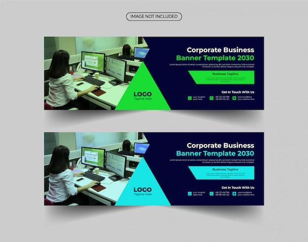 Creative corporate business banner