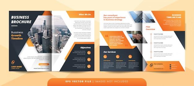 Шаблон брошюры творческого корпоративного бизнеса.