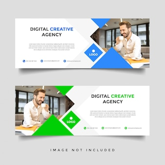 Creative corporate business cover template