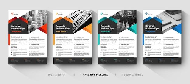 Creative corporate business flyer templates