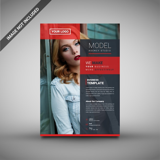 promotional flyers template