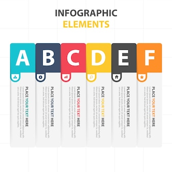 Creative corporate infographic elements
