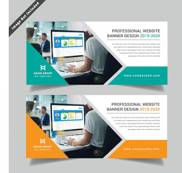 Creative corporative double side flyer template