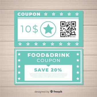 Creative coupon template