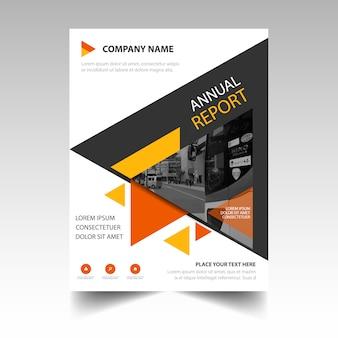 Creative cover of annual report