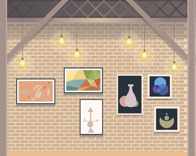 Creative coworking open space бизнес-студия