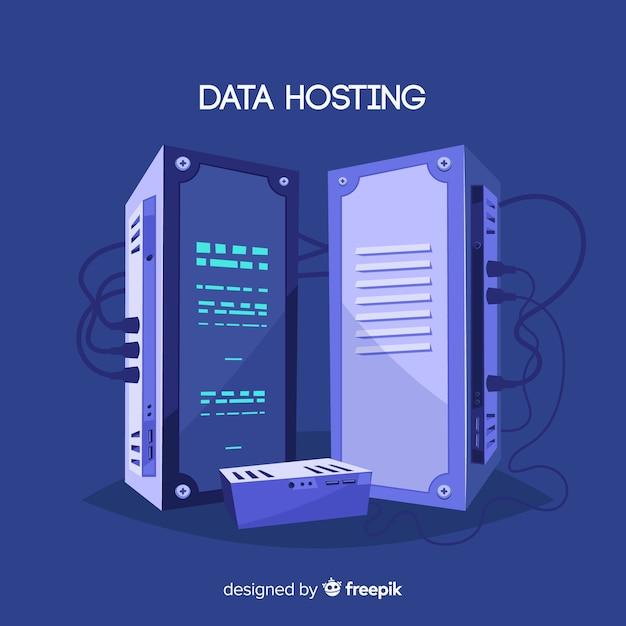Creative data hosting concept