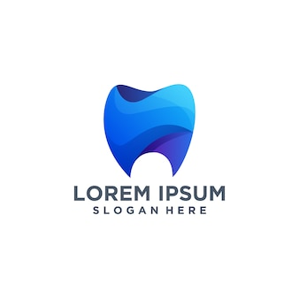 Creative dental logo template