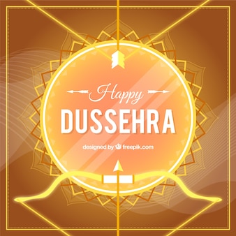Creative dussehra background