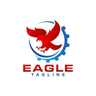 Creative eagle logoストックベクトル