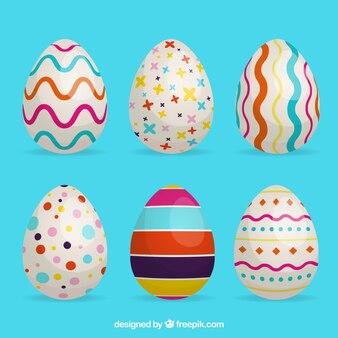 Pacchetto creativo di uova pasquali