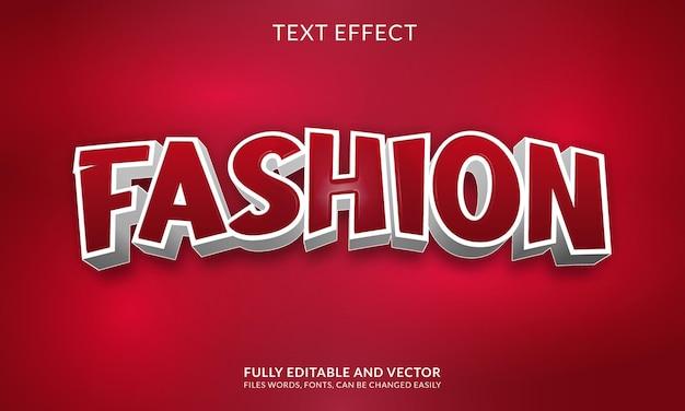 Творческий редактируемый жирный текстовый эффект
