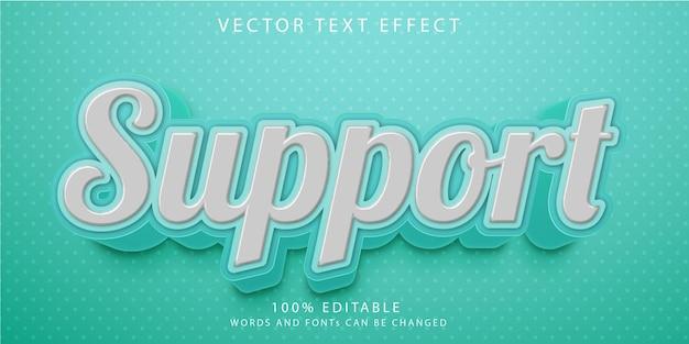 Шаблон стиля творческих редактируемых текстовых эффектов
