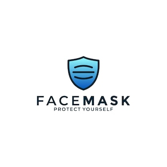 Creative face mask with shield protection for your business