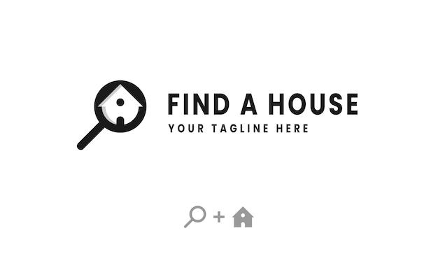 クリエイティブな家のロゴを探す