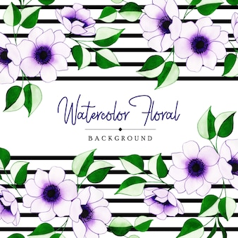 Creative floral background