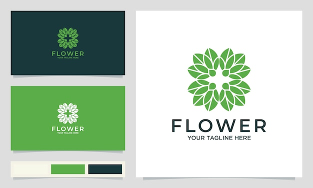 Creative flower logo designs, for salons, spa, weddings and other beauty products
