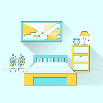 フラットラインデザインのクリエイティブな家具トピック