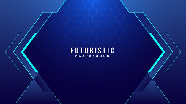 Creative futuristic abstract background