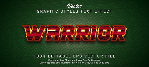 Creative futuristic text style effect