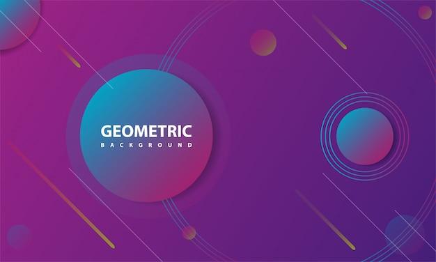 創造的な幾何学的な背景