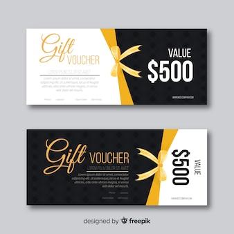 Creative gift voucher banners