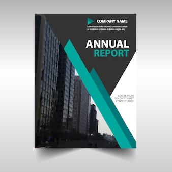 Creative green business flyer template