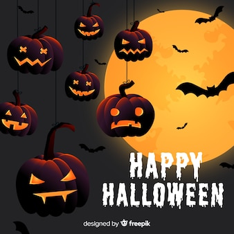 Creative halloween background
