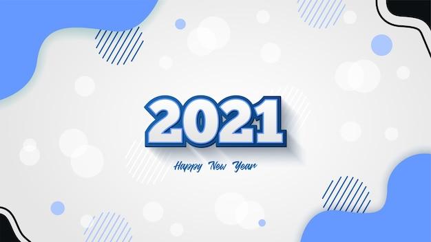 Creative happy new year  background