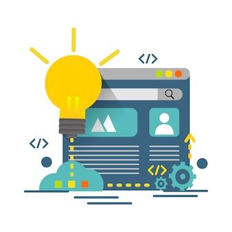 Creative idea concept, design for business creative