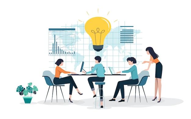 Creative ideas leading to success