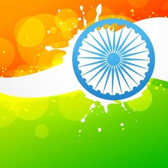 Дизайн векторного дизайна индийского флага
