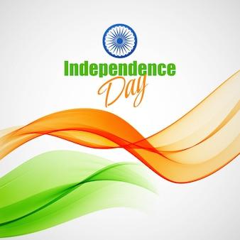 創造的なインド独立記念日のコンセプト。ベクターイラストeps10