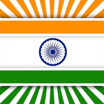 Креативная концепция день независимости индии.