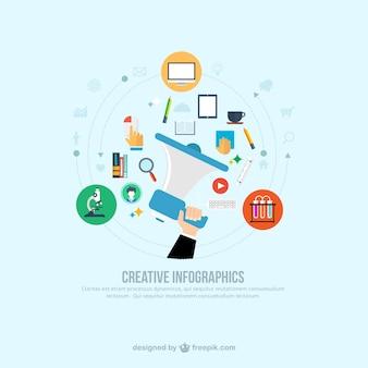 Creative infographic Premium Vector