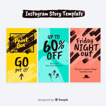 Creative instagram stories collection
