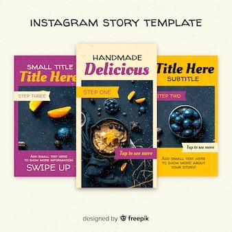 Collezione di modelli di storie creative instagram