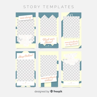 Creative instagram stories template