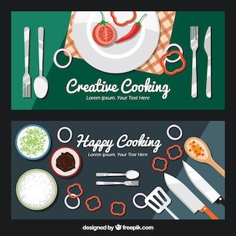 Творческая кухня баннеры