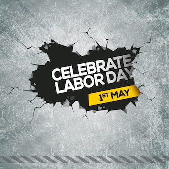Creative labor day design