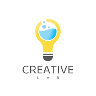 Creative labs logo design template