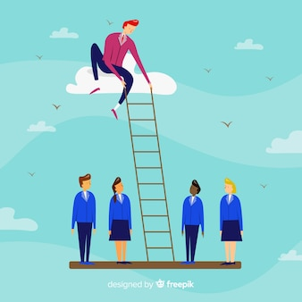 Creative leadership concept