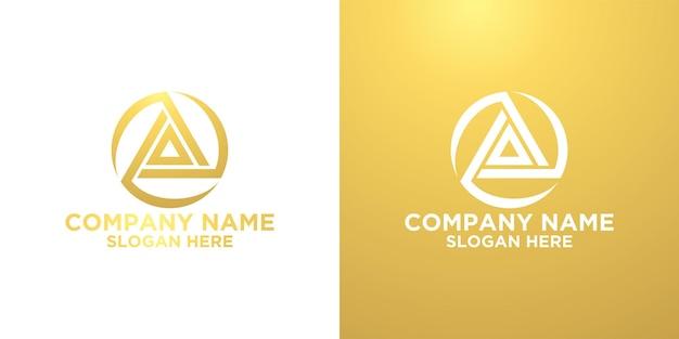 크리에이티브 편지 a 로고 디자인 템플릿 premium