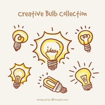 Creative lightbulbs collection