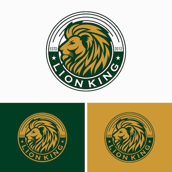Creative lion logo templates