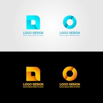 Creative logo of letter