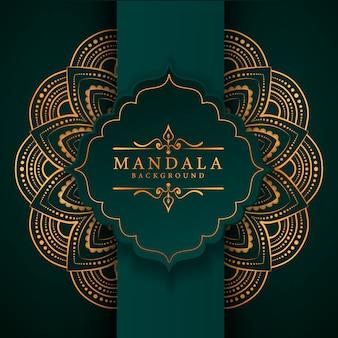 Creative luxury arabesque mandala background