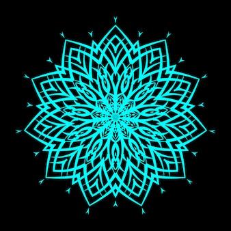 Creative luxury mandala background